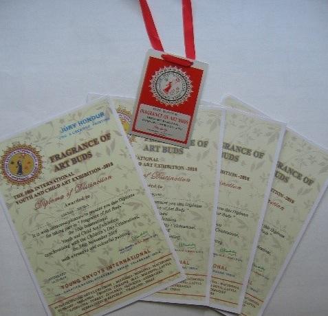 Mednarodni likovni natečaj INDIJA HYDERABD
